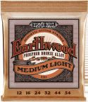 Musikinstrumenter, Ernie Ball EB-2146, Earthwood Phosphor Bronze Medium Light 12-54