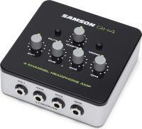Samson QH4, 4-channel stereo headphone amplifier