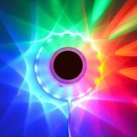 Spinning Sunflower 48 RGB LEDs
