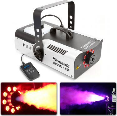 S1500LED Smoke Machine 9x 3W RGB DMX