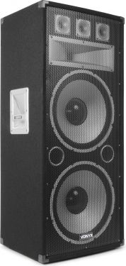 "VONYX TX215 3-vejs Diskohøjtaler - 2x15"" bas 750W"