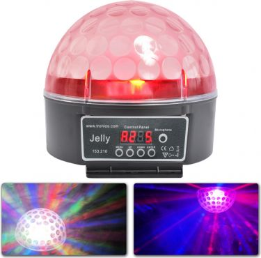 Magic Jelly Ball DMX 6x 3W RGB LED