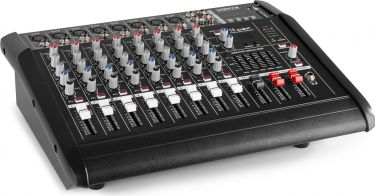 AM8A 8-Channel Mixer with Amplifier DSP/BT/SD/USB/MP3