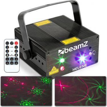 Helene Double Laser RG Multipoint IRC 3W blå LED