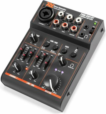 PDM-D301BT 3-Channel USB Mixer