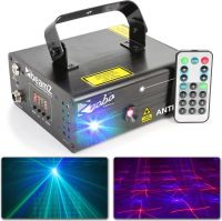 Anthe II Double Laser 600mW RGB Gobo DMX IRC