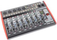 Power Dynamics PDM-L405 9-kanals musik mixer / Phantom power / Echo / MP3