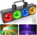 DJ Bank BX 4x 3W RGBA LEDs