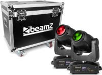 BeamZ professional IGNITE180B LED Beam Moving Head 2 stk. i Flightcase
