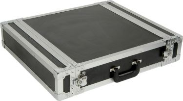 "PD-F2U 19"" Flightcase 2U"