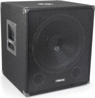 """SMWBA15 Bi-Amplifier Subwoofer 15"""" 600W"""