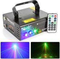 Surtur II Double Laser RG Gobo DMX IRC 3W blå LED