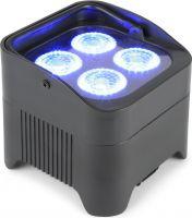 BeamZ BBP94 Batteri Uplight Par 4x 10W