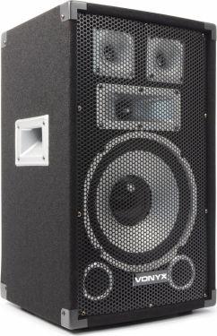 "VONYX TX10 3-vejs Diskohøjtaler - 10"" bas 300W"