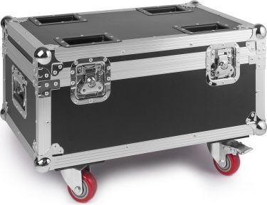 Flightcase for 4 pieces LED Twister