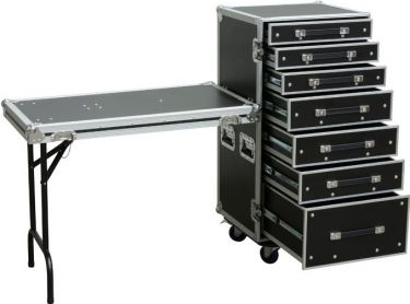 PD-FA5 7 Drawer Engineer Case with Table