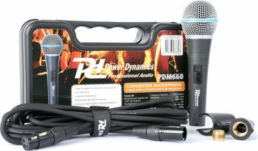 PDM660 Condensator Microphone