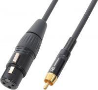CX54-3 Cable XLR Female- RCA Male 3.0m