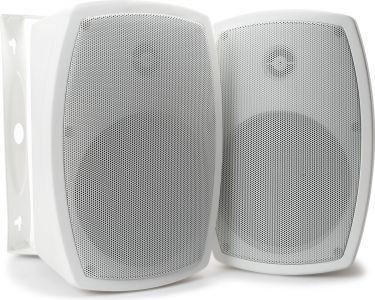 """Udendørs-højtaler ISP4W 8 Ohm / 4"""" 100W, hvid (sæt)"""