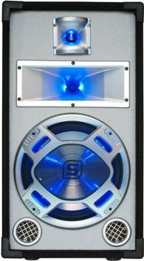 "Disco White Speaker 10"" 400W LED"