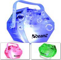 Sæbeboblemaskine B500 med LED diskolys - hele maskinen lyser flot op i alle farver!