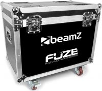 FCFZ4 Flightcase for 4 pieces Fuze Series Moving Heads
