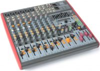 Professionel Scenemixer PDM-S1203 / 12-kanals med DSP/MP3 og USB in/out