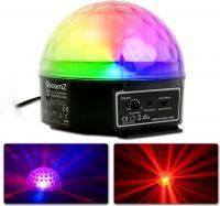 Magic Jelly DJ Ball / Musikkstyrt LED lyseffekt (3x 3W RGB)