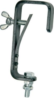 G-krog 50mm med fjeder / max belastning 30kg, sort