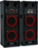 "Speakerset - active, SPB-28 PA Active Speakerset 2x 8"" BT"