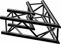 P30-C20 Truss 2-way corner 60º Black