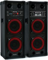 "SPB-28 PA Active Speakerset 2x 8"" BT"