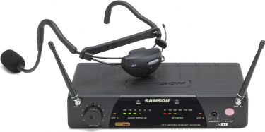Samson AirLine 77 AH7 Fitness Headset System, Fitness Headset wirel