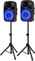 Lyd Systemer, VPS122A Plug & Play 800W Speaker Set with Stands
