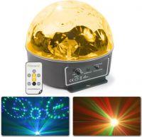 BeamZ Mini Star Ball RGBAWP 6x3W LED Musikstyret - Flotte blomster effekter