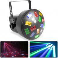 Mini Mushroom LED - Flot roterende diskolys i takt til musikken!