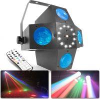 Multitrix LED med laser og strobe
