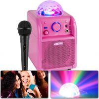 SBS50P Bluetooth Party Speaker LED Ball Pink