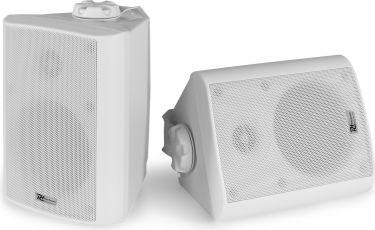 "BC40V White Speaker Pair 100V 8 Ohm 4"" 100W - IPX5"
