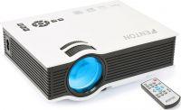 Fenton X20 Projektor til hjemmeunderholdning / Opløsning 800 x 480 / Lysstyrke 800 Lumen