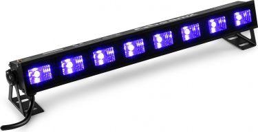 BUVW83 BAR 8x 3W UV/White 2in1 LED