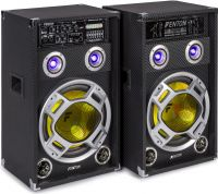 "KA-12 Active Speaker Set 12"" USB/RGB LED 1200W"