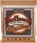 Musikinstrumenter, Ernie Ball EB-2150, Earthwood Phosphor Bronze Extra Light 10-50