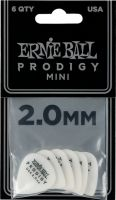 Musikinstrumenter, Ernie Ball EB-9203 PRODIGY-PICK-WH-3s,6PK, High performance Guitar