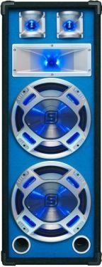 "Disco PA speaker 2x 10"" 800W LED"