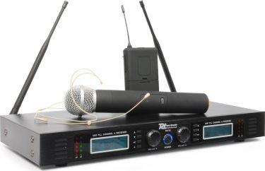Power Dynamics 732C 2x16-kanals UHF trådløst mikrofonsæt