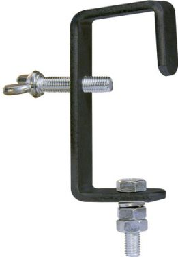 G-krog 50mm / max belastning 30kg, sort