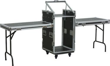"""PD-F16U10T 19"""" Rackcase with Tables"""