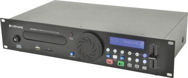 Professionel CD/MP3-afspiller med USB/SD indgang - kan rackmonteres / 2U
