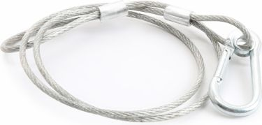 Safety Cable 70cm x 2mm 20kg